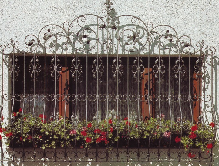 Wrought Iron Window Pictures
